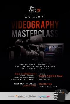 WORKSHOP VIDEOGRAPHY BARENG FOUNDER MOTIVO.ID